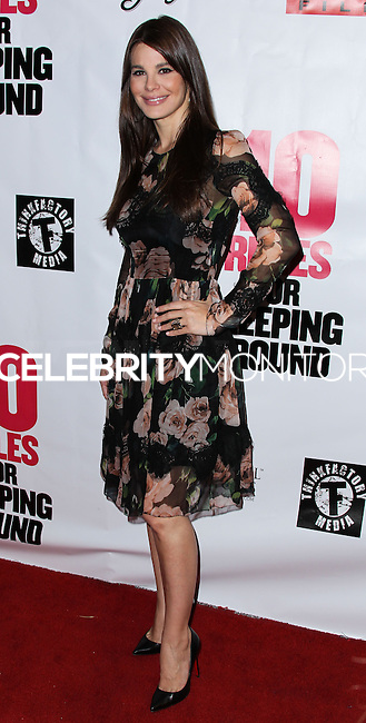 """HOLLYWOOD, LOS ANGELES, CA, USA - APRIL 01: Lucila Sola at the Los Angeles Premiere Of Screen Media Films' """"10 Rules For Sleeping Around"""" held at the Egyptian Theatre on April 1, 2014 in Hollywood, Los Angeles, California, United States. (Photo by Xavier Collin/Celebrity Monitor)"""