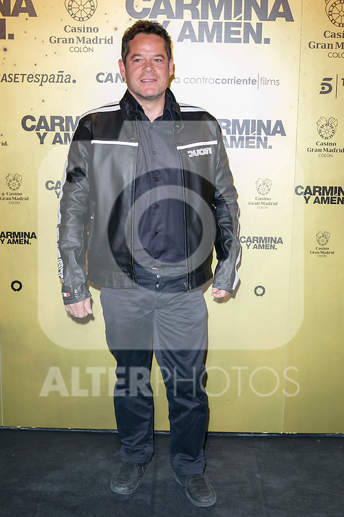 "Spanish actor Jorge Sanz attend the Premiere of the movie ""Carmina y Amen"" at the Callao Cinema in Madrid, Spain. April 28, 2014. (ALTERPHOTOS/Carlos Dafonte)"