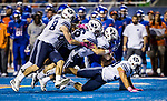 _E2_9538<br /> <br /> 16FTB @ BSU<br /> <br /> BYU- 27<br /> BSU- 28<br /> <br /> October 20, 2016<br /> <br /> Photography by: Nathaniel Ray Edwards/BYU Photo<br /> <br /> &copy; BYU PHOTO 2016<br /> All Rights Reserved<br /> photo@byu.edu  (801)422-7322<br /> <br /> 9538