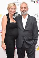 Alison Balsom and Sam Mendes<br /> at the South Bank Sky Arts Awards 2017, Savoy Hotel, London. <br /> <br /> <br /> &copy;Ash Knotek  D3288  09/07/2017
