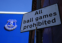 2020 Evertons Goodison Park during Lockdown for Covid 19 May 8th