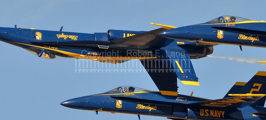 US Navy Blue Angels.  Naval Air Facility El Centro, CA  11 Mar 17
