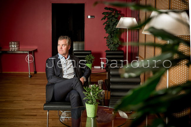 CEO Bo Nilsson of Nets Holding, Lautrupbjerg 10, Ballerup, Denmark. <br /> <br /> <br /> Foto: Jens Panduro