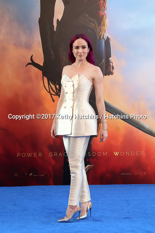 "LOS ANGELES - MAY 25:  Caity Lutz at the ""Wonder Woman"" Los Angeles Premiere at the Pantages Theater on May 25, 2017 in Los Angeles, CA"