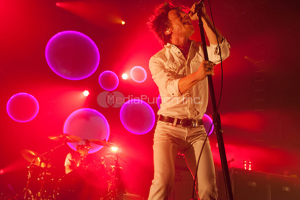 NEW YORK, NY - MAY 7: Cage The Elephant performing at Terminal 5 in New York, NY on May 7, 2014. Photo Credit: RTNPallante/MediaPunch.
