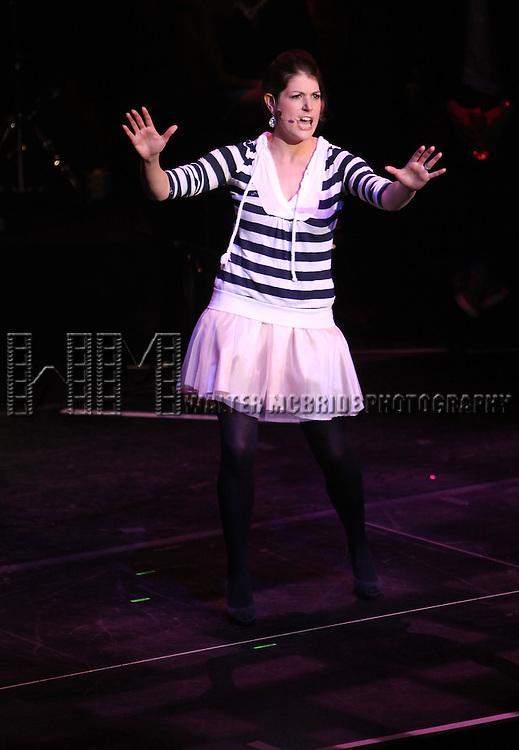 Nicole Parker.performing in 'MISCAST 2012' MCC Theatre's Annual Musical Spectacular at The Hammerstein Ballroom in New York City on 3/26/2012.