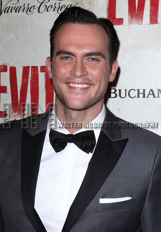 Cheyenne Jackson.attending the Broadway Opening Night Performance of 'EVITA' at the Marquis Theatre in New York City on 4/5/2012 © Walter McBride / WM Photography