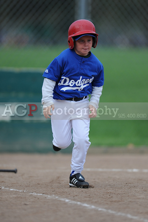 The A Dodgers of Pleasanton National Little League  March 21, 2009.