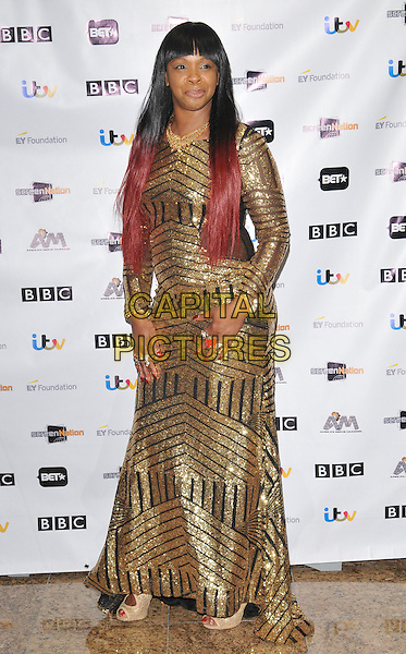 Sandy Channer attends the 11th Annual Screen Nation Film &amp; Television Awards 2016, Hilton London Metropole Hotel, Edgware Road, London, UK, on Saturday 19 March 2016.<br /> CAP/CAN<br /> &copy;Can Nguyen/Capital Pictures