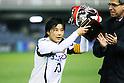 Shinobu Ohno (Leonessa), FEBRUARY 2, 2012 - Football / Soccer : Charity match between FC Barcelona Femenino 1-1 INAC Kobe Leonessa at Mini Estadi stadium in Barcelona, Spain. (Photo by D.Nakashima/AFLO) [2336]