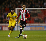 Danny Lafferty of Sheffield Utd during the League One match at Bramall Lane Stadium, Sheffield. Picture date: September 27th, 2016. Pic Simon Bellis/Sportimage
