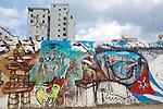 Street art in La Habana Vieja.