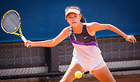 Amstelveen, Netherlands, 13 August 2020, NTC, National Tennis Center, KNLTB Wilcard Tournament, Minchae M.C. Kim (NED)<br /> Photo: Henk Koster/tennisimages.com