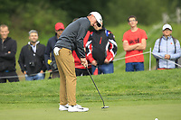 Paul Peterson (USA) on the 2nd green during Round 4 of the D+D Real Czech Masters at the Albatross Golf Resort, Prague, Czech Rep. 03/09/2017<br /> Picture: Golffile | Thos Caffrey<br /> <br /> <br /> All photo usage must carry mandatory copyright credit     (&copy; Golffile | Thos Caffrey)