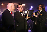 Vince Giordanoreceives Lifetime Achievement Award at the New York Hot Jazz Festival own September 30, 2018 at The McKittrick Hotel in New York City.