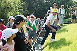 Rafael Cabrera Bello of Spain walks during the 58th UBS Hong Kong Golf Open as part of the European Tour on 11 December 2016, at the Hong Kong Golf Club, Fanling, Hong Kong, China. Photo by Marcio Rodrigo Machado / Power Sport Images