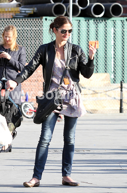 **ALL ROUND PICTURES FROM SOLARPIX.COM**.**SYNDICATION RIGHTS FOR UK, AUSTRALIA, DENMARK, PORTUGAL, S. AFRICA, SPAIN & DUBAI (U.A.E) ONLY**.American Law & Order actress Jill Hennessy takes a day out in the park with her family at Washington Square Park in New York City USA..This pic: Jill Hennessy..JOB REF: 10941    PHZ    DATE: 19.03.2010.**MUST CREDIT SOLARPIX.COM OR DOUBLE FEE WILL BE CHARGED**.**MUST NOTIFY SOLARPIX OF ONLINE USAGE**.**CALL US ON: +34 952 811 768 or LOW RATE FROM UK 0844 617 7637**