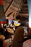 BELIZE, Hopkins, Lebeha Drumming Group at the drumming center in Hopkins, winners of the Battle of the Drums