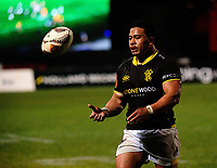 Asofa Aumua prepares to take a lineout throw during the Mitre 10 Cup rugby union match between Bay of Plenty and Wellington at Rotorua International Stadium in Rotorua, New Zealand on Thursday, 31 August 2017. Photo: Dave Lintott / lintottphoto.co.nz
