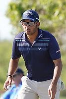 Pablo Larrazabal (ESP) on the 8th during Round 1 of the Abu Dhabi HSBC Championship 2020 at the Abu Dhabi Golf Club, Abu Dhabi, United Arab Emirates. 16/01/2020<br /> Picture: Golffile | Thos Caffrey<br /> <br /> <br /> All photo usage must carry mandatory copyright credit (© Golffile | Thos Caffrey