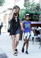 NEW YORK, NY July 05, 2018 Heidi Klum, Lou Samuel,  in New York. July 05, 2018 <br /> CAP/MPI/RW<br /> &copy;RW/MPI/Capital Pictures