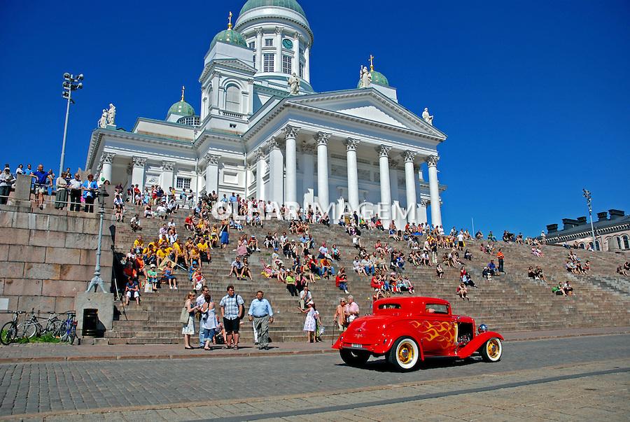 Catedral Protestante em Helsinki. Finlândia. 2007. Foto de Vinicius Romanini.