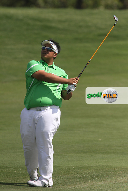 Kiradech Aphibarnrat (THA) on the 12th during Round 4 of the 2013 Avantha Masters, Jaypee Greens Golf Club, Greater Noida, Delhi, 17/3/13..(Photo Jenny Matthews/www.golffile.ie)