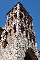 Europe/Europe/France/Midi-Pyrénées/46/Lot/Cahors:  Eglise Saint-Barthélemy avec son clocher-porche