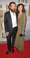 New York, NY- September 19: Peter Sarsgaard and Maggie Gyllenhaal  attends the 'The Magnificent Seven' New York premiere at Museum of Modern Art on September 19, 2016 in New York City@John Palmer / Media Punch