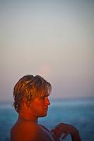 DAMIEN FAHRENFORT (ZAF) aboard the Vaagali MV, Maldives (Monday, June 8th, 2009). Photo: joliphotos.com