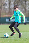 11.04.2018, Trainingsgelaende, Bremen, GER, 1.FBL, Training SV Werder Bremen<br /> <br /> im Bild<br /> Zlatko Junuzovic (Werder Bremen #16), <br /> <br /> Foto &copy; nordphoto / Ewert