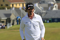 Pedro Figueiredo (POR) on the 1st green during Thursday's Round 1 of the Dubai Duty Free Irish Open 2019, held at Lahinch Golf Club, Lahinch, Ireland. 4th July 2019.<br /> Picture: Eoin Clarke | Golffile<br /> <br /> <br /> All photos usage must carry mandatory copyright credit (© Golffile | Eoin Clarke)