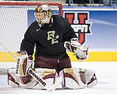 Cory Schneider - The Boston College Eagles took their morning skate on Saturday, April 8, 2006, at the Bradley Center in Milwaukee, Wisconsin to prepare for the 2006 Frozen Four Final game versus the University of Wisconsin.