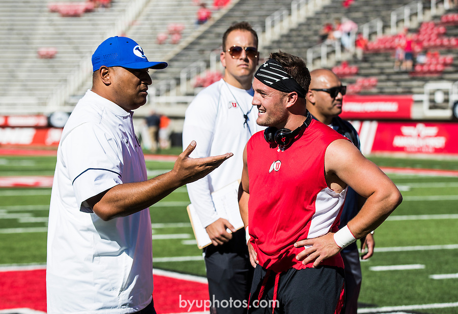 16FTB at Utah 0177<br /> <br /> 16FTB at Utah<br /> <br /> BYU Football at Utah - Deseret First Duel<br /> <br /> BYU-19<br /> Utah-20<br /> <br /> September 10, 2016<br /> <br /> Photo by Jaren Wilkey/BYU<br /> <br /> © BYU PHOTO 2016<br /> All Rights Reserved<br /> photo@byu.edu  (801)422-7322