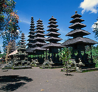 Temples and religious shrines in Bali. Indonesia
