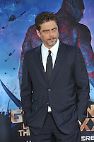 Benicio Del Toro at the world premiere of his movie &quot;Guardians of the Galaxy&quot; at the El Capitan Theatre, Hollywood.<br /> July 21, 2014  Los Angeles, CA<br /> Picture: Paul Smith / Featureflash