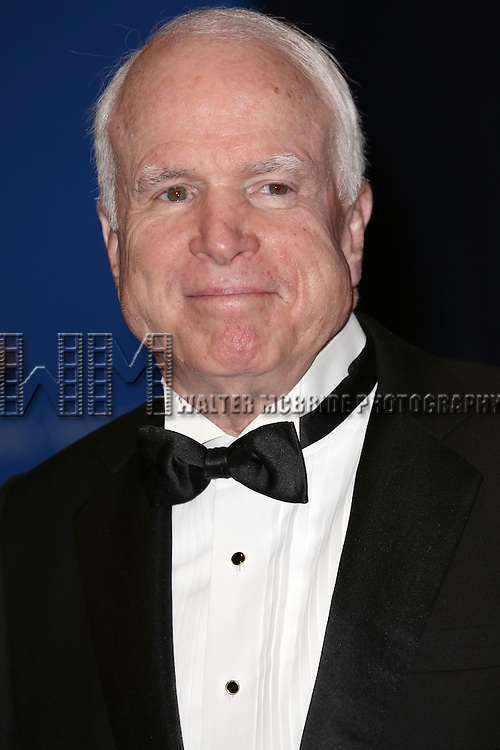 John McCain attends the 100th Annual White House Correspondents' Association Dinner at the Washington Hilton on May 3, 2014 in Washington, D.C.