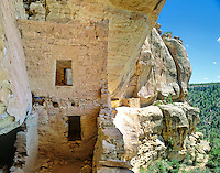 Eagle Nest House, ruins of an ancient Puebloan cliff dwelling in the Ute Mountain Tribal Park near Cortez, Colorado, USA, TomBean_Pix_1948.