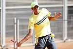 Australia's Alexei Popyrin during Junior Davis Cup 2015 match. September  30, 2015.(ALTERPHOTOS/Acero)