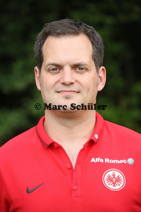 Mannschaftsarzt Dr. Wulf Schwietzer (Eintracht Frankfurt)