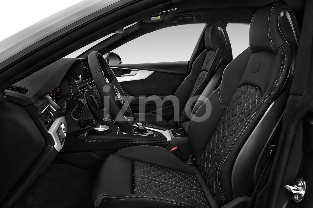 Front seat view of a 2017 Audi S5 Sportback Base 5 Door Hatchback front seat car photos