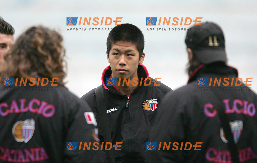 Takayuki Morimoto (Catania)<br /> 28 Feb 2007 (Match Day 26)<br /> Lazio-Catania (3-1)<br /> &quot;Olimpico&quot;-Stadium-Roma-Italy<br /> Photographer: Andrea Staccioli INSIDE