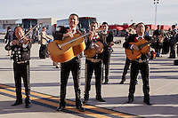 SAN ANTONIO, TX -DECEMBER 14, 2016: The University of Texas at San Antonio Roadrunner Football Team travels from San Antonio, TX to Albuquerque, NM for their appearance in the Gildan New Mexico Bowl. (Photo by Jeff Huehn)