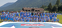 Presentazione della nuova maglia <br /> ritiro precampionato Napoli Calcio a  Dimaro 12 Luglio 2015<br /> <br /> Preseason summer training of Italy soccer team  SSC Napoli  in Dimaro Italy July 12, 2015