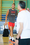 Willy Hernan Gomez during the training of Spanish National Team of Basketball. August 07, 2019. (ALTERPHOTOS/Francis González)