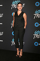 "LOS ANGELES - JAN 8:  Briana Venskus at the ""Good Trouble"" Premiere Screening at the Palace Theater on January 8, 2019 in Los Angeles, CA"