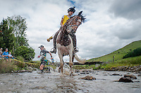 2014 06 14 Man v Horse at Llanwrtyd Wells, mid Wales, UK