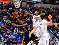Coppin State vs. UCONN Men's Basketball from the XL Center in Hartford, CT.
