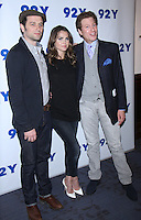 NEW YORK, NY-October 30:  Matthew Rhys, Keri Russell, Tim Goodma, at 92Y presents FX's series The Americans at 92nd Street Y in New York.October 30, 2016. Credit:RW/MediaPunch