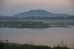 Burmese landscapes and the Irrawaddy River